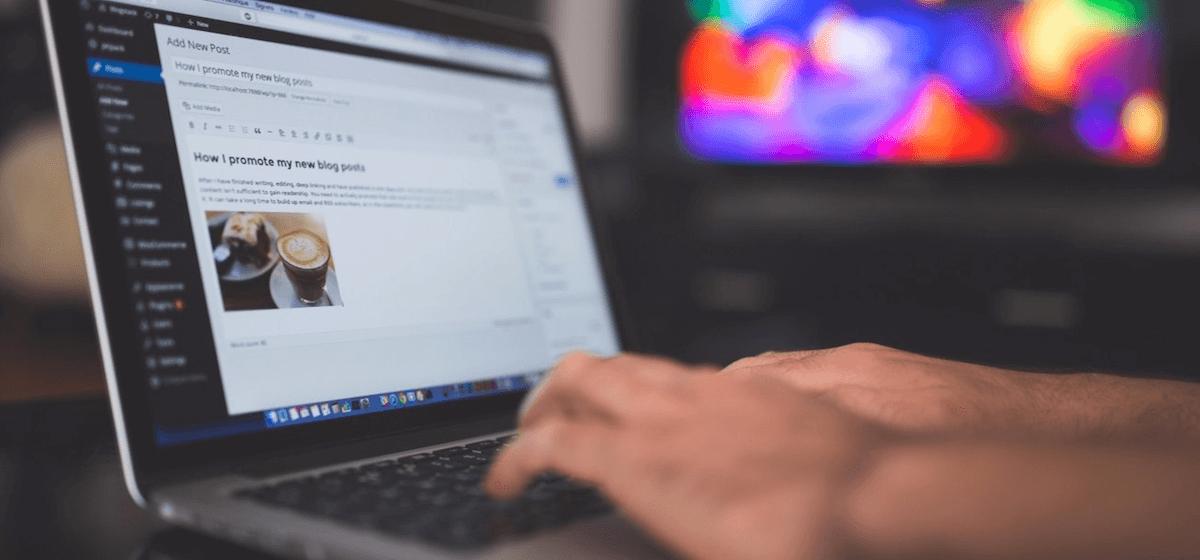 Editando blog corporativo